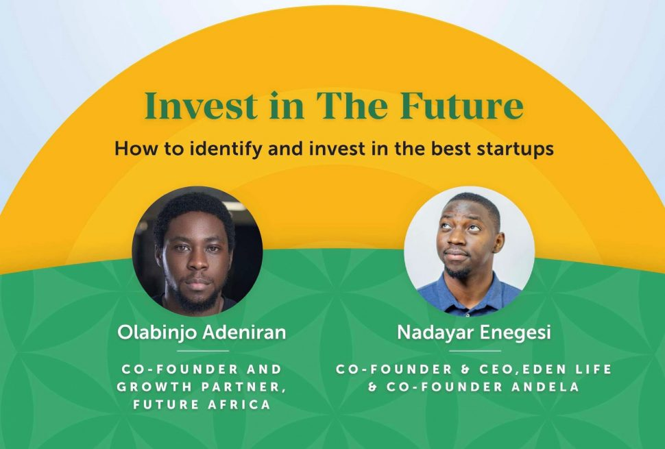 Invest In The Future With Nadayar Enegesi